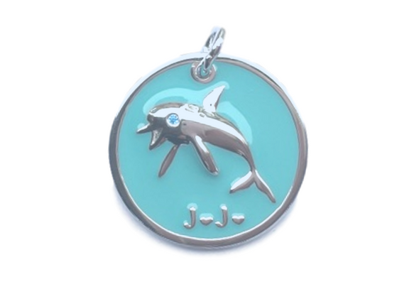 JoJo the Dolphin - Sterling Silver Necklace