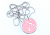 Turks in Pink - Sterling Silver Pendant Only