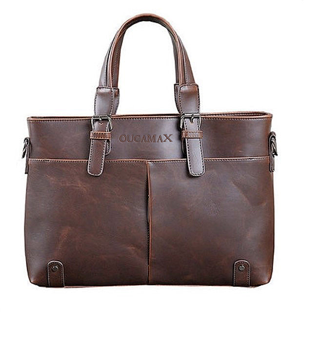 OUCAMAX Men's Leather And Imitation Leather Bags, Briefcases And Attache Cases