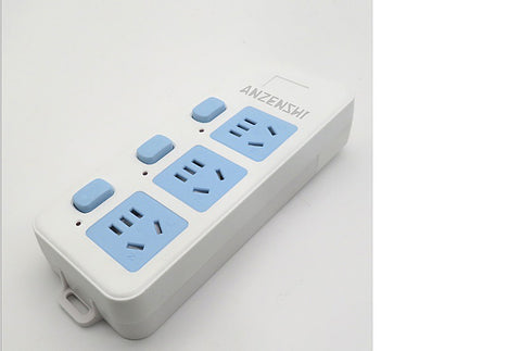 ANZENSHI Power strips, for Smartphone Tablets Home,Office, Hotel-White