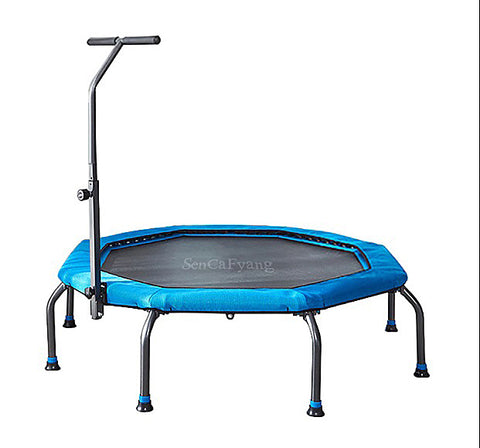 SenCaFyang Fitness Trampoline, Extra Large Surface for More Freedom, Body-building apparatus for Kids or Adults, Safety & Durability