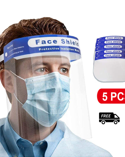 Face Shield Anti-fog Adjustable Dental Full Face Shield Plastic