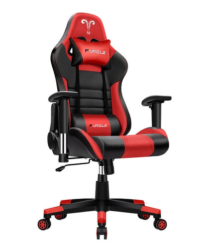 Red/Silver Executive Ergonomic Office Chair