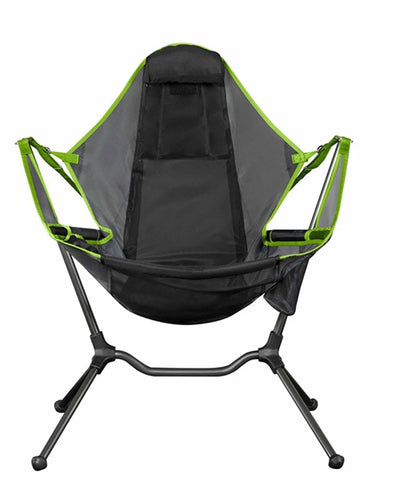 Chair Camping Swing Recliner Swinging Lean Back Outdoor Folding Chair