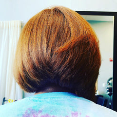 Bob Cut and Silk Press