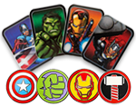 Avengers Lapel Pin Set