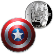 2019 10g Silver Captain America Shield Coin