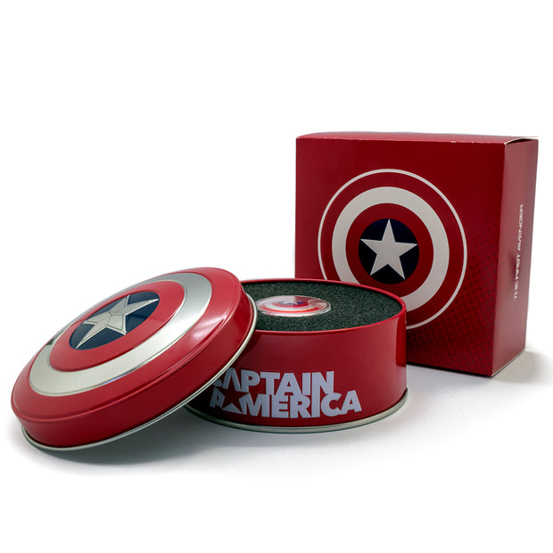 2019 10g Silver Captain America Shield Coin packaged set