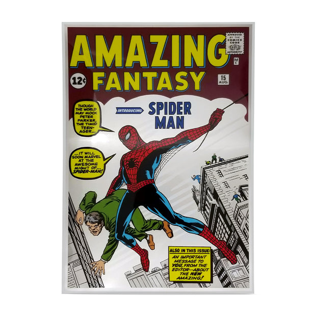 1oz Silver Amazing Fantasy #15 Comic Book Foil