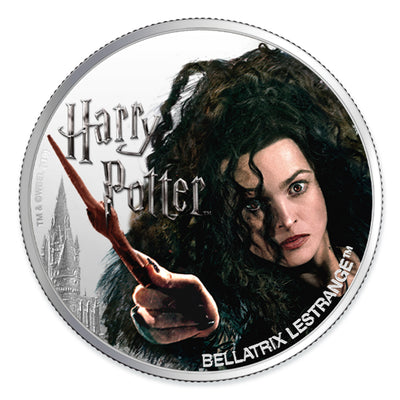 Harry Potter: 2020 1oz Pure Silver BELLATRIX LESTRANGE Coin