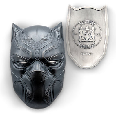 Marvel: 2021 2oz Pure Silver BLACK PANTHER Icon Coin