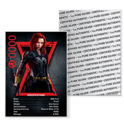 Marvel: 2020 1oz Pure Silver BLACK WIDOW Coin
