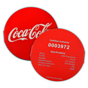 2018 6g Silver Coca-Cola Bottle Cap Coin