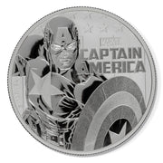 Marvel: 2019 1oz Pure Silver CAPTAIN AMERICA Bullion Coin
