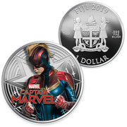 2019 1oz Silver Captain Marvel Coin