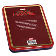 2019 1oz Silver Captain Marvel Coin packaging back