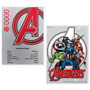 2020 1oz Silver Avengers Logo Coin certificate of authenticity