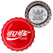 6g Coca-Cola Silver Bottle Cap Coin - China
