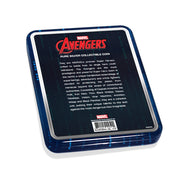 2020 1oz Silver Avengers Logo Coin case back detail