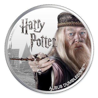 Harry Potter:  2020 1oz Pure Silver ALBUS DUMBLEDORE Coin