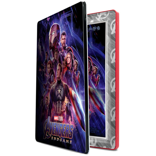 2019 1oz Silver Avengers: Endgame Movie Poster Foil collector box detail