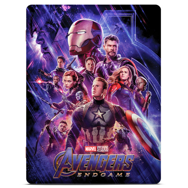2019 1oz Silver Avengers: Endgame Movie Poster Foil collector box front