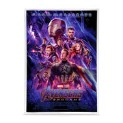 2019 1oz Silver Avengers: Endgame Movie Poster Foil  front detail