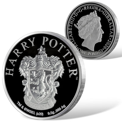 2020 Harry Potter Gtyffindor House Crest Coin detail