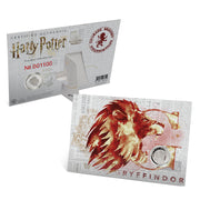2020 Harry Potter Gtyffindor House Crest Coin packaging with certificate of authenticity