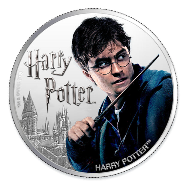 2020 1oz Silver Harry Potter Coin