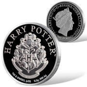 2020 Harry Potter HOGWARTS School of Witchcraft & Wizardry Coin detail