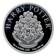 2020 Harry Potter HOGWARTS School of Witchcraft & Wizardry Coin obverse detail