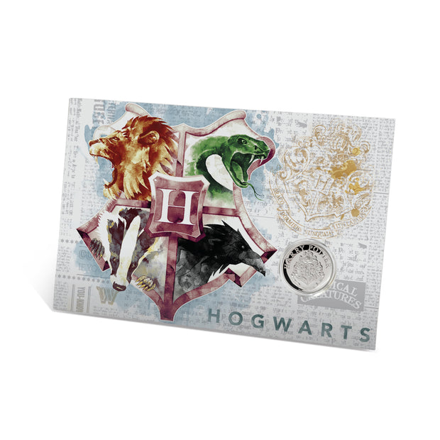 2020 Harry Potter HOGWARTS School of Witchcraft & Wizardry Coin packaging detail front