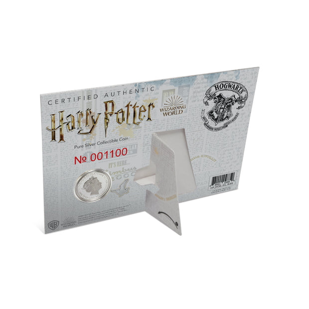 2020 Harry Potter HOGWARTS School of Witchcraft & Wizardry Coin packaging detail back