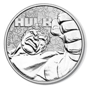 Marvel: 2019 1oz Pure Silver HULK Bullion Coin