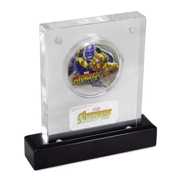 2018 2oz Silver Thanos Infinity War Coin