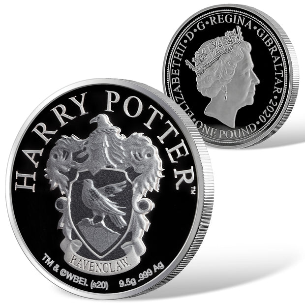 2020 Harry Potter Ravenclaw House Crest Coin Detail
