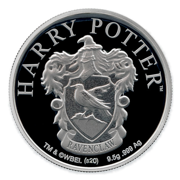 2020 Harry Potter Ravenclaw House Crest Coin obverse detail