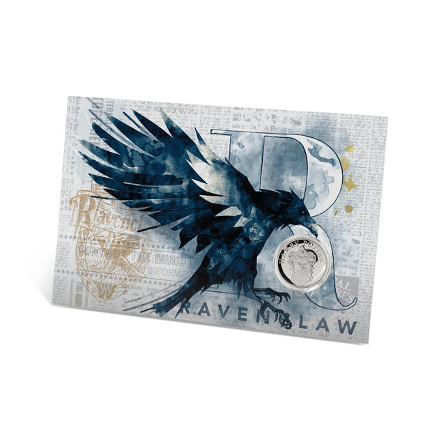 2020 Harry Potter Ravenclaw House Crest Coin packaging detail front