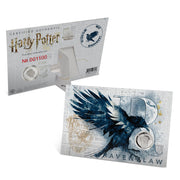 2020 Harry Potter Ravenclaw House Crest Coin  packaging with certificate of authenticity