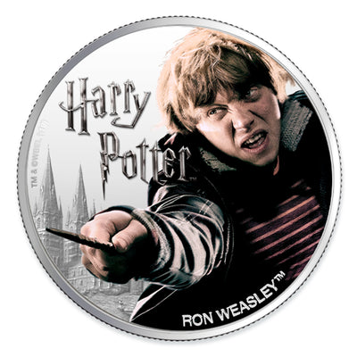 Harry Potter: 2020 1oz Pure Silver RON WEASLEY Coin