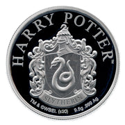 2020 Harry Potter Slytherin House Crest Coin obverse detail