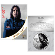 2020 1oz Silver Severus Snape Coin certificate of authenticity