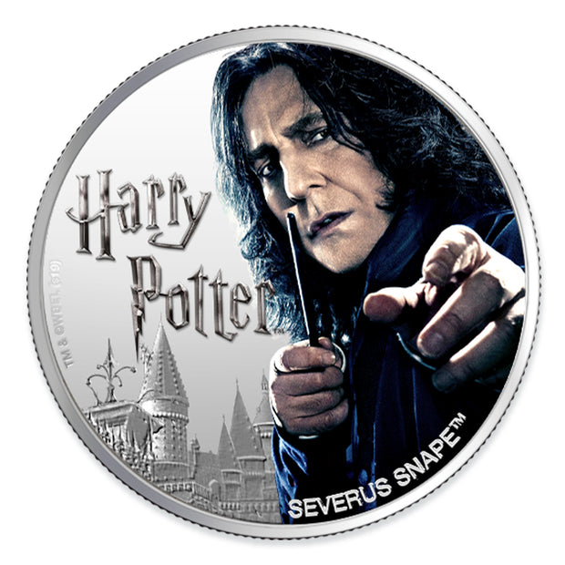 Harry Potter: 2020 1oz Pure Silver SEVERUS SNAPE Coin