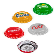 2020 Silver Coca-Cola Bottle Cap Coin Vending Machine Set edge detail
