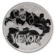 Marvel: 2020 1oz Pure Silver VENOM Bullion Coin