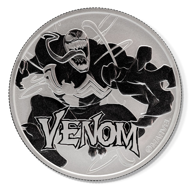2020 1oz Silver Venom Bullion Coin