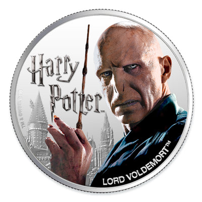 2020 1oz Silver Lord Voldemort Coin