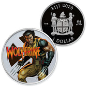 Marvel: 2020 1oz Pure Silver WOLVERINE Coin
