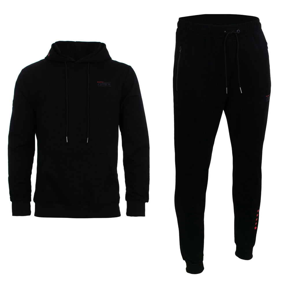 Apex Perform Tracksuit - Black